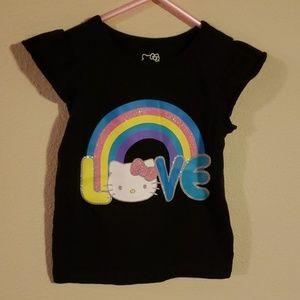 4/$12 Hello Kitty shirt